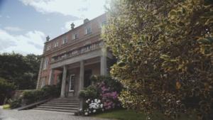 Davenport house venue promotional film behind the scenes photo