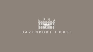 Davenport house venue promotional film behind the scenes photo of title